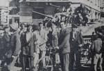 gli alleati entrano a Bergamo