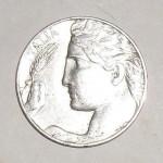 Moneta 1921 lato B